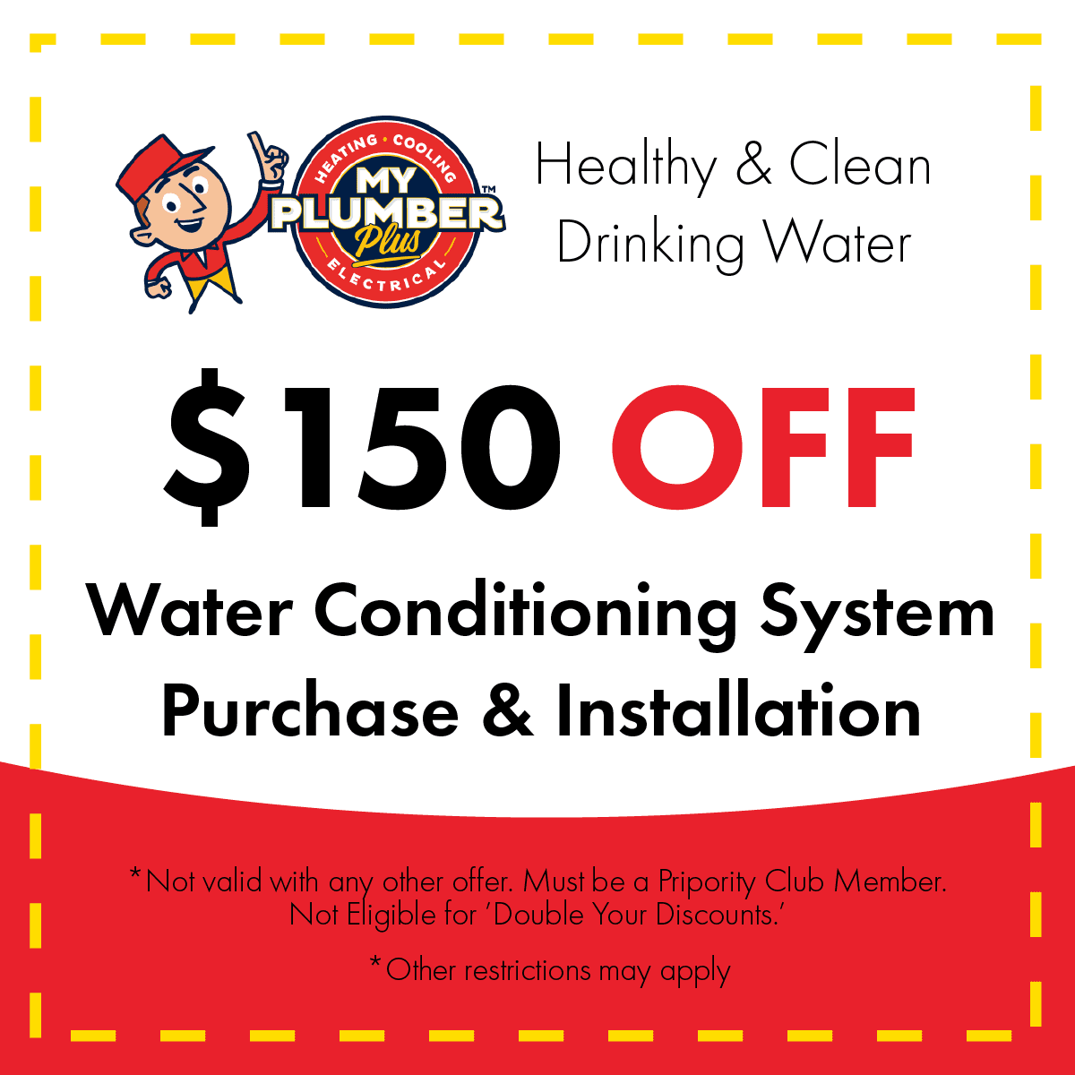 water conditioning coupon