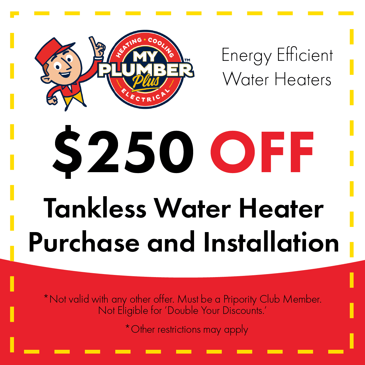 tankless water heater coupon