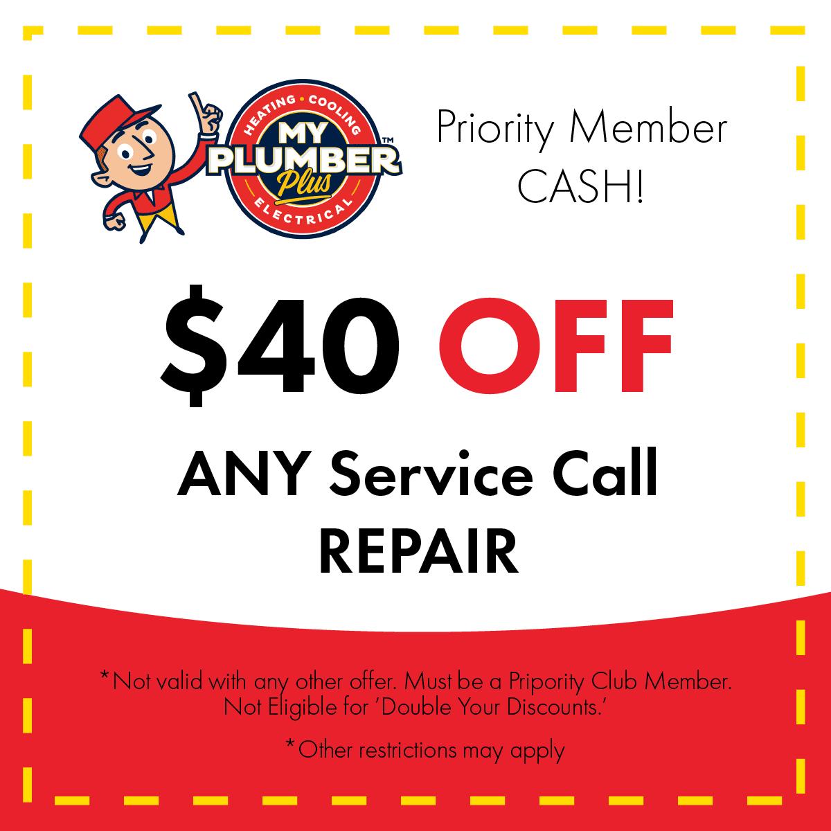 service repair coupon