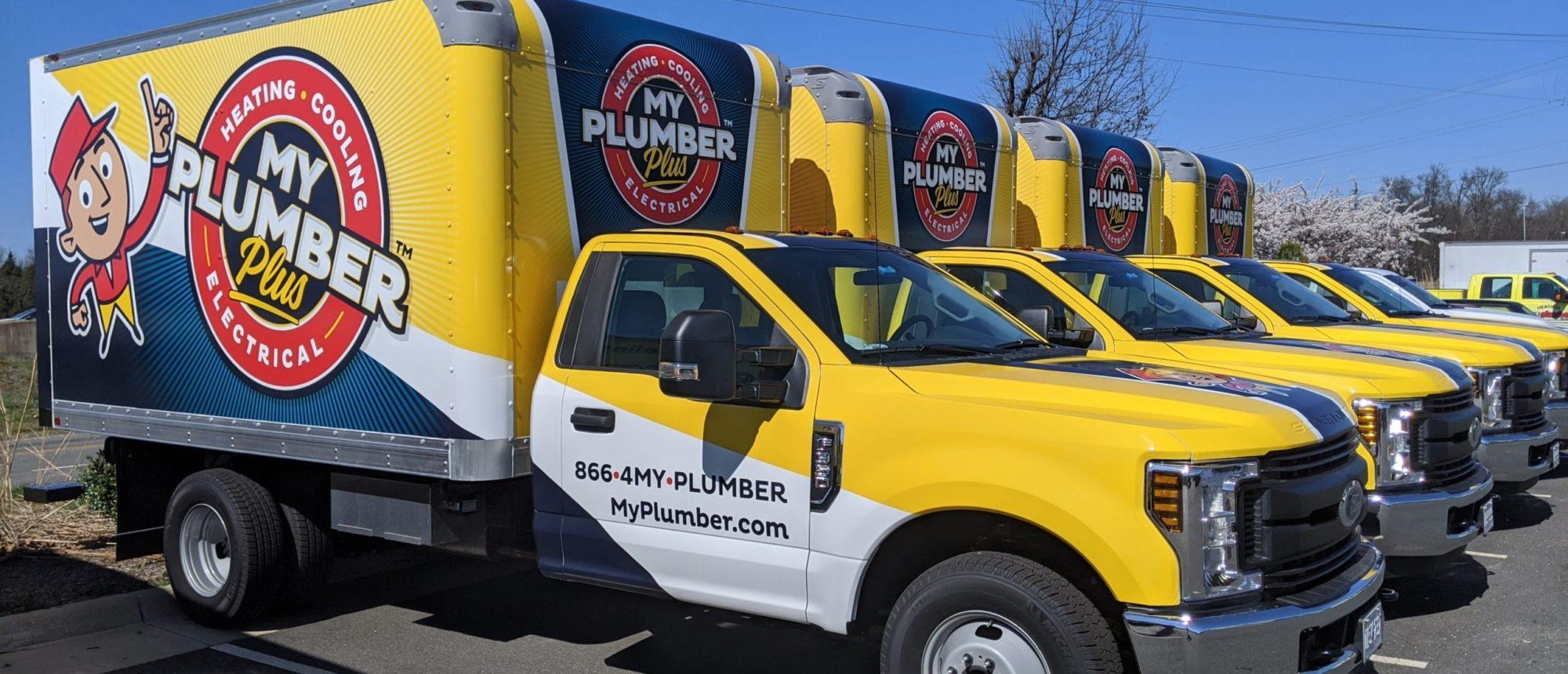 My Plumber Trucks